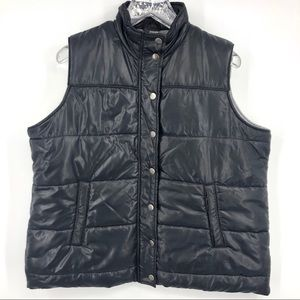 Motherhood Maternity Jersey Lined Puffer Vest